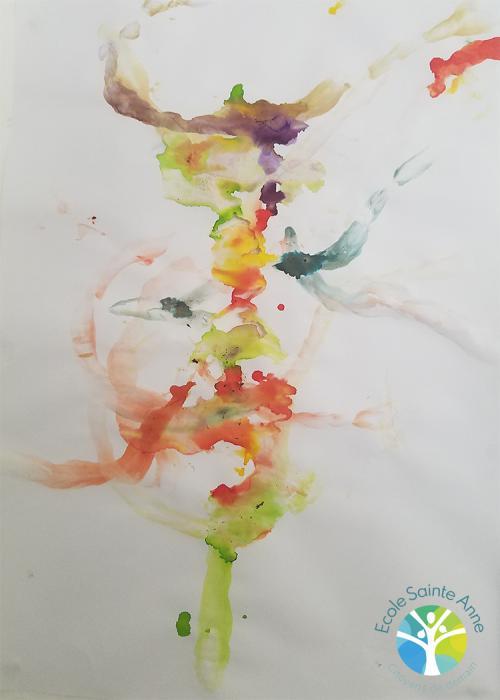 Découverte de l'artiste Claude Gilli dans la classe MS/GS B